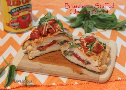 Bruschetta Chicken Cut 2
