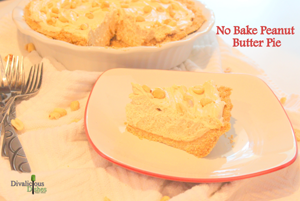 No Bake PB Pie