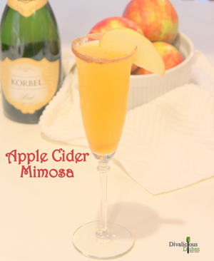 apple cider mimosa 2